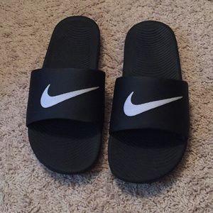 Nike slides men's size 13